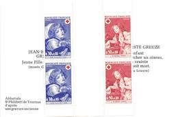 FRANCE PAIRE Carnet Croix-Rouge 1971 N°1700/1701 - Carnets
