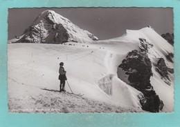 Old Post Card Of Jungfraujoch Mit Monch Bernese Alps,Switzerland.,R80. - BE Berne