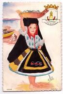 3475 - Cp Fantaisie - Portugal : Nazare - Costume Régional Brodé ( Cp Signée ) - éd. Neconsar - - Cartes Postales