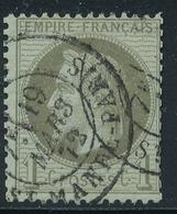 N°25 NUANCE ET OBLITERATION. - 1863-1870 Napoleon III With Laurels