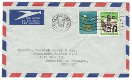 10344 - Pour L'Allemagne - Afrique Du Sud (1961-...)