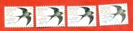 Kazakhstan 2007.Birds.Swallow. Used Stamps. - Kazakhstan