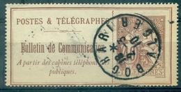 FRANCE Téléphone N° 26 Belle Oblitération  BOGHARI . ALGER 2.3.1910.TB. - Telegraph And Telephone