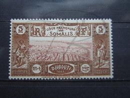 VEND BEAU TIMBRE DE LA COTE FRANCAISE DES SOMALIS N° 167 , XX !!! - Côte Française Des Somalis (1894-1967)