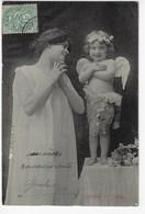 Nymphe Et Amour - 1906 (K71) - Angels