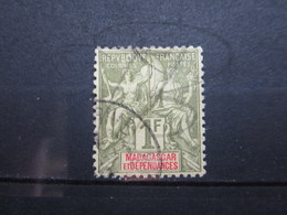VEND BEAU TIMBRE DE MADAGASCAR N° 40 !!! - Used Stamps