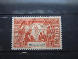 VEND BEAU TIMBRE DE MADAGASCAR N° 181 , X !!! - Unused Stamps