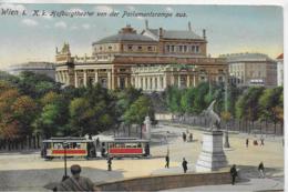 AK 0090  Wien - K. K. Hofburg V0n Der Parlamentsrampe Aus Um 1915 - Wien Mitte