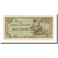 Billet, Birmanie, 1/2 Rupee, Undated (1942), KM:13b, NEUF - Myanmar