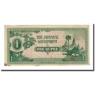 Billet, Birmanie, 1 Rupee, Undated (1942), KM:14b, TTB+ - Myanmar