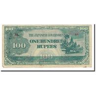 Billet, Birmanie, 100 Rupees, Undated (1944), KM:17b, TB - Myanmar