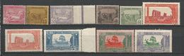 TUNISIE N° 100 à 109  NEUF** LUXE SANS CHARNIERE / MNH - Tunisia (1888-1955)