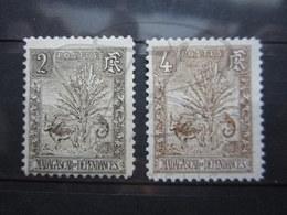 VEND BEAUX TIMBRES DE MADAGASCAR N° 64 + 65 , (X) !!! - Unused Stamps