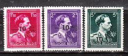 724N/P**  Leopold III Col Ouvert Surchargé -10% - LIEGE 11 - Série Complète - MNH** - LOOK!!!! - 1946 -10%