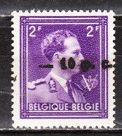 724O**  Leopold III Col Ouvert Surchargé -10% - MONTIGNIES SUR SAMBRE - MNH** - LOOK!!!! - 1946 -10%