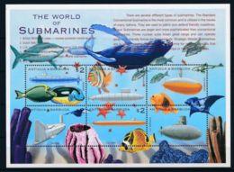 Antigua And Barbuda 2000 Submarine Fishes Sheetlets SCOTT No.2404 I201807 - Antigua And Barbuda (1981-...)