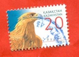 Kazakhstan 2008. Falcon. Used Stamp. - Kazakhstan