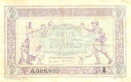 2 FRANCS 1917 - Trésor