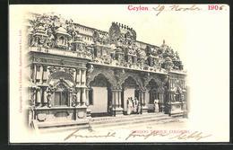 AK Colombo, Hindoo Temple - Sri Lanka (Ceylon)