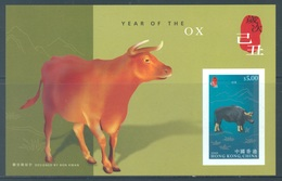 HONG KONG -  MNH/**- 2009 - YEAR OF THE OX - Yv BLOC 178 -  Lot 18303 - 1997-... Région Administrative Chinoise