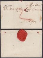"Pays-Bas 1786 - Précurseur "" Leyden ""vers Den Haag Au Verso Cachet De Cire (6G24546) DC0883 - Pays-Bas"