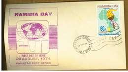 NAMIBIA - PHILATELIC COUNT - Y 1974 FDC - Namibie (1990- ...)