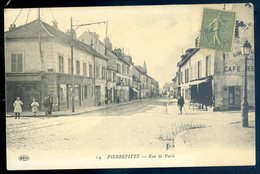 Cpa Du 93  Pierrefitte Rue De Paris     YN17 - Pierrefitte Sur Seine
