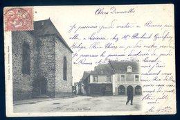 Cpa Du 56  Guer Rue Haute  YN17 - Guer Coetquidan