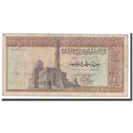 Billet, Égypte, 1 Pound, KM:44a, B - Egypte