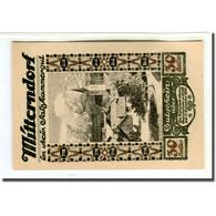 Billet, Autriche, Mitterndorf, 30 Heller, N.D, 1920, SPL, Mehl:621IIe1 - Autriche