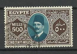 ÄGYPTEN Egypt 1927 Michel 136 O - Egypt