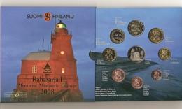 Coffret BU  Finlande  Année  2008 - Finlande