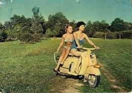 """Motorbike - Yugoslav Vespa - ,,GALEB"""" And Girls - Motorbikes"""