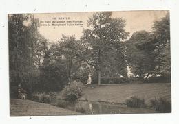 Cp , 44 ,NANTES ,un Coin Du Jardin Des Plantes ,vers Le Monument Jules VERNE ,écrite1941 - Nantes