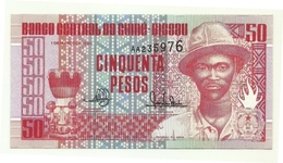 Guinea-Bissau - 50 Pesos 1990 - Guinea–Bissau