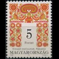 HUNGARY 1998 - Scott# 3615 Folk Art Design Set Of 1 MNH - Unused Stamps