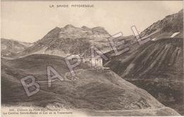 Chemin Du Petit Saint-Bernard (73) - La Cantine Sainte-Barbe - Col De La Traversette - France
