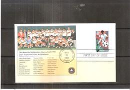 Football - World Cup 94 - German Team - Teamchef Franz Beckenbauer - FDC USA (to See) - World Cup