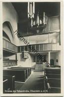 Oberstein - Felsenkirche - Orgel - Foto-AK - Verlag Herm. Van Der Woude Oberstein Gel. 1929 - Kirchen U. Kathedralen