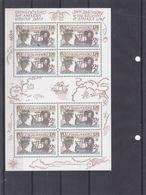 Europa 1992 - Tchècoslovaquie - Yvert 2413 ** - En Petite Feuille De 8 - Bateaux - Découverte De L'Amérique-valeur 27,50 - Tchécoslovaquie