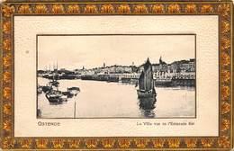 West-Vlaanderen Oostende Ostende La Ville Vue De  L'estacade Est Zicht Op De Stad Vanop Het Staketsel         I 4487 - Oostende