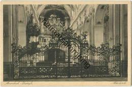 Amorbach - Abteikirche - Orgel - Verlag Wilh. Gerling Darmstadt Gel. 1930 - Kirchen U. Kathedralen