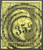 Preußen Michel 4 Mit Nummernstempel 359 Düsseldorf (2-252) - Preussen
