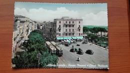 Albano Laziale - Piazza Mazzini E Corso Matteotti , Tram - Italie