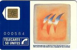 Folon Oiseaux Bicentenaire Numérotée 000584 - Télécartes