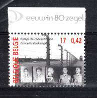 Belgio   -   2000. Shoah: Campi Di Concentramento. Lager. MNH - Seconda Guerra Mondiale