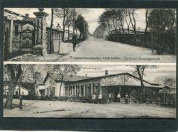 CPA - Truppenübungsplatz Oberhofen, Animé - Guerre 1914-18