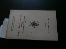 P Adhemar : Pater Joris Van Geel  (Oevel)(Xaveriana 118 Van October 1933) Kongo - Boeken, Tijdschriften, Stripverhalen