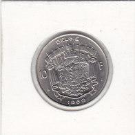 10 FRANCS Nickel Baudouin 1969 FL - 1951-1993: Baudouin I