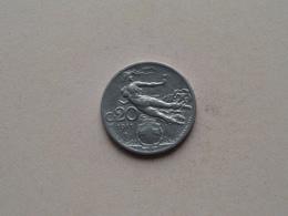 1911 R - 20 Centesimi ( KM 44 ) Uncleaned ! - 1861-1946 : Royaume
